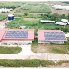 Renewable energy produce inside campus