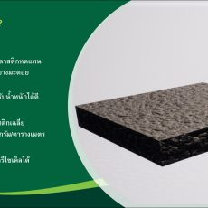 """Up cycling for Better """"The Asphalt Paving Block From Recycled Plastics"""""""