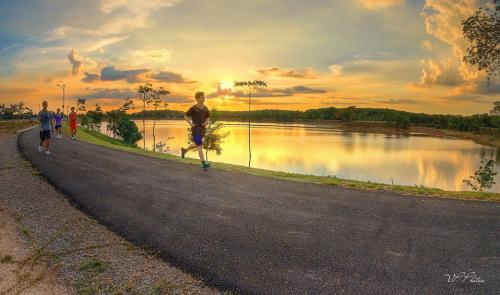 Sura Reservoir